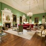 The grand salon after restoration.