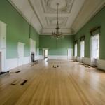 The grand salon before restoration.