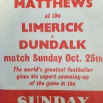 The poster for the match in 1959.