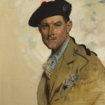 Sir William Orpen RA RI RHA (1878-1931) PORTRAIT OF CAPTAIN COLIN DAVID BRODIE, 1928 (20,000-30,000)