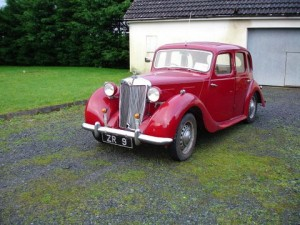 A c1952 MG YB Saloon in original maroon colour, complete with extensive history file (5,000-8,000).