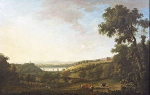 View of Dawson's Grove, Co. Monaghan by William Ashford, painted about 1774. is estimated at 70,000-100,000.
