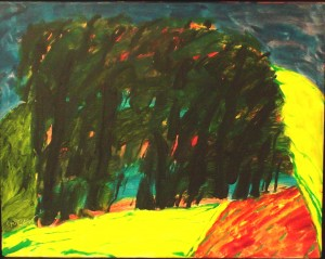 'Wood at Evening' by William Crozier  is estimated at 4,000 - 8,000
