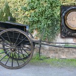 A Dublin made Victorian horse coach sold for 3,600.