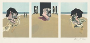 Metropolitan triptych (large version) Set of 3 etchings and aquatint in colours, 1981 (£15,000-25,000)
