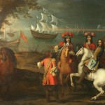 King William III and General Schomberg at Carrickfergus madd 6,600.