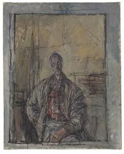 Alberto Giacometti (1901-1966) - Diego en chemise écossaise
