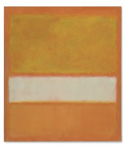 Mark Rothko (1903-1970) Untitled (No. 11) Painted in 1957. Courtesy Christie's Images Ltd., 2013