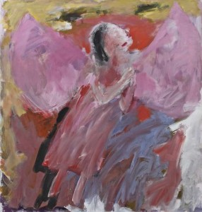 Basil Blackshaw HRHA RUA (b.1932) Angel I Acrylic on canvas (35,000-45,000)