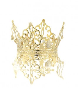 The tiara worn by Victoria Beckham at her wedding.