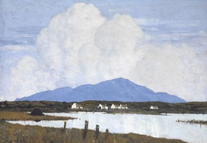 The Lake by Paul Henry (1876-1958) dated 1928 (80,000-100,000).