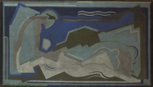 Mainie Jellett (1897-1944) Death of Procris, 1929 (30,000-50,000).