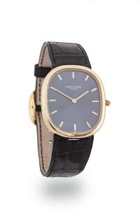A gentleman's Golden Ellipse wristwatch by Patek Philippe circa 1975 (7,000-10,000)