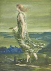 Sir Edward Coley Burne-Jones, Bt., A.R.A., R.W.S. (1833-1898) Hesperus, The Evening Star (£300,000-500,000). Courtesy Christie's Images Ltd., 2013