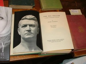 A first edition of The Big Fellow by Frank O'Connor is estimated at 60-100.