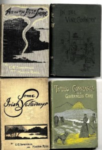 A collection of Somerville and Ross first editions sold for 750.