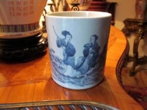 Oriental brush pot (150-250).