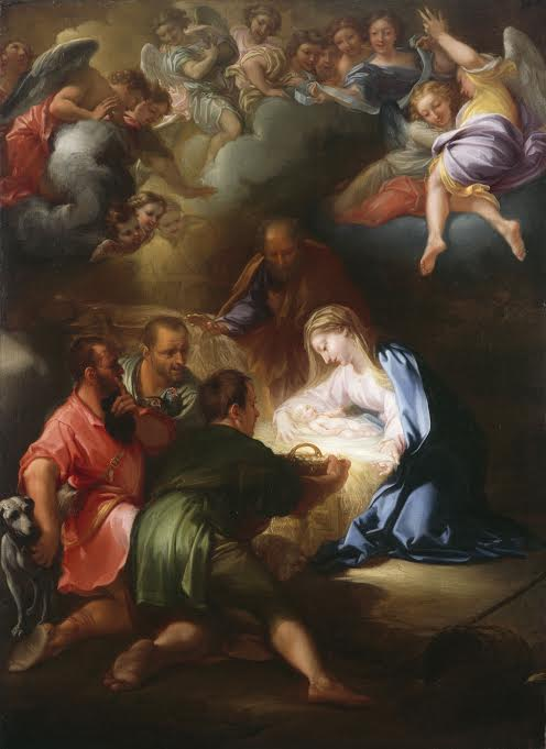 Girolamo Troppa (1630-after 1710) Adoration of the Shepherds, 1670s Photo © National Gallery of Ireland