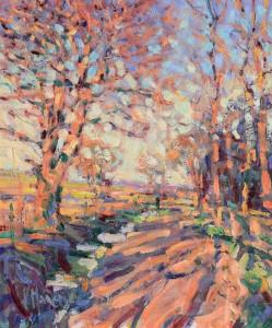 Arthur K. Maderson (b.1942) Point of Sunset  (1,500-2,000).