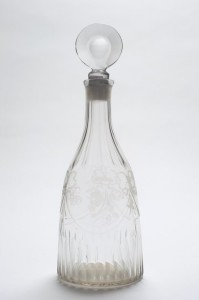 A UK collector paid £4,700 for this old Irish decanter.