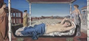 Paul Delvaux La Vénus endormie 1943 (£1.2-1.6 million).