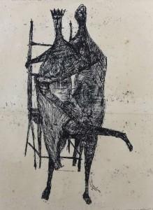EDWARD DELANEY (1930-2009) King of Tara, lithograph (80-120)