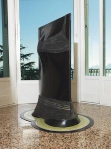 PINO PASCALI (1935-1968) Torso di negra al bagno (Nascita di Venere)  enamel on canvas, wool, inflatable balloons, wood structure and shaped painted base (£1.1-1.5 million).