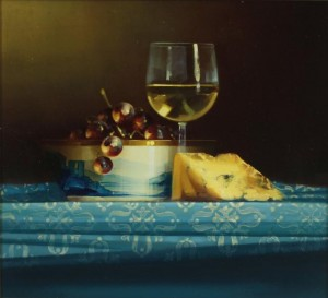 David ffrench le Roy - Cheese and wine (700-900)