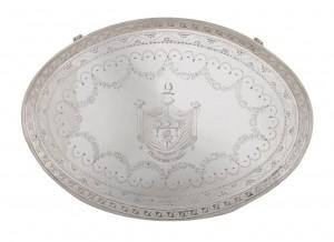 An Irish silver tray, Dublin 1786 by Robert Breading (8,000-12,000)