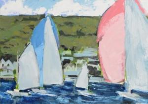 Martin Stone (b.1963) Baltimore II  oil on canvas (800-1,200)