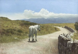 Patrick Hennessy RHA (1915-1980) The Long Road Home, Connemara sold for a hammer price of 16,000.