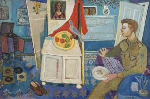 Gerard Dillon (1916-1971) In the London Flat (20,000-30,000)