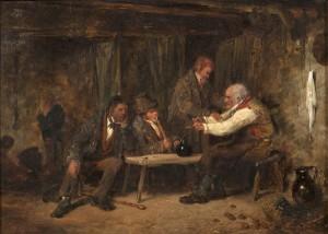 Erskine Nicol RSA ARA (1825-1904) A Shebeen (1,000-2,000)