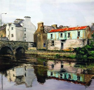 'Ennistymon Bridge' by Marie Fallon.