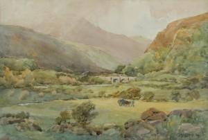 Gladys Wynne (1876-1968)  Glenmalure, Co. Wicklow (400-600)