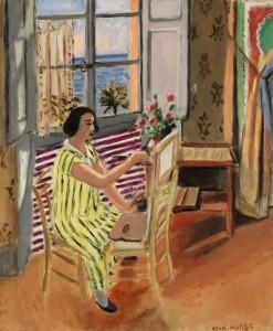 Henri Matisse La Séance du matin Painted in 1924