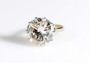 Last sold 15 years ago for around 10,000 this 10.25 carat diamond solitaire is back at O'Reilly's in Dublin with an estimate of 18,000-22,000.