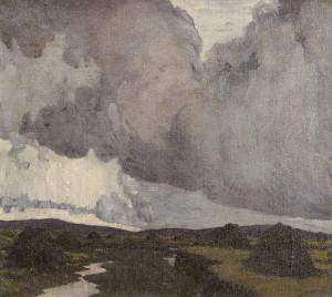 Paul Henry RHA (1876-1958) A Western Landscape 1919 (40,000-60,000).