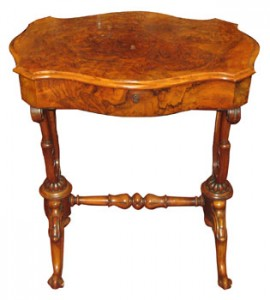 This Victorian lady's work table made 1,500.