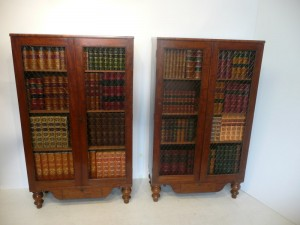 A pair of Cork Regency bookcases (4,000-6,000).