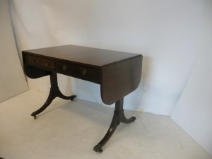 A c1830 Regency sofa table (1,000-1,500)