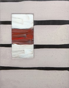 Sean Scully - Passenger Line, Black sold for 80,000
