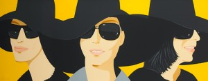 Alex Katz (USA, b.1927) BLACK HAT IV, 2012.  Number 11 from an edition of 50.  (3,000-5,000).