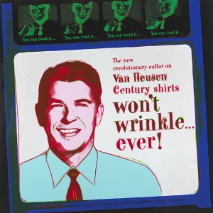 Andy Warhol (USA, 1928-1987) VAN HEUSEN (RONALD REAGAN), FROM ADS, 1985 Number 3 from an edition of 190 (10,000-15,000).
