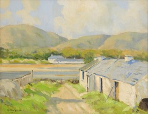 George Gillespie - Cottages by the Shore (800-1,200).