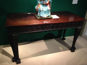 One of the Irish  c1755 tables at Ronald Phillips.