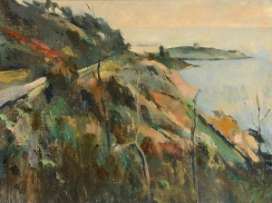 Peter Collis - Dalkey Island and Vico Road.