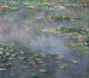 Claude Monet's Nympheas, sold for £31.7m ($54.1m) at Sotheby's London in June