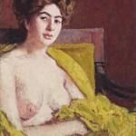 Roderic O'Conor, R.H.A. (1860-1940) Seated female nude (£5,000-8,000)
