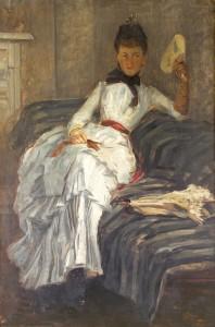 Sarah Purser (1848-1943)  - A Visitor